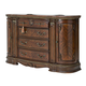 Aico Bella Veneto 4 Drawer Dresser in Cognac 9051050-202