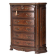 Aico Bella Veneto 6 Drawer Chest in Cognac 9051070-202