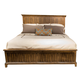 Liberty Mill Creek Queen Panel Bed in Rustic Cherry 458-BR-QPB