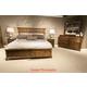 Liberty 4-Piece Mill Creek Panel Bedroom Set in Rustic Cherry