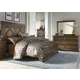 Liberty 4-Piece Amelia Panel Bedroom Set in Antique Toffee