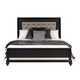 Samuel Lawrence Diva King Upholstered Bed in Midnight