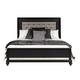 Samuel Lawrence Diva King Upholstered Bed in Midnight