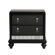 Samuel Lawrence Diva Nightstand in Midnight 8809-050