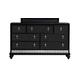 Samuel Lawrence Diva Drawer Dresser in Midnight 8809-010