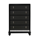Samuel Lawrence Diva Drawer Chest in Midnight 8809-040