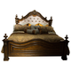 Liberty Chamberlain Court King Upholstered Panel Bed in Rich Auburn 491-BR-KUB