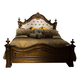 Liberty Chamberlain Court Upholstered Queen Panel Bed in Rich Auburn 491-BR-QUB