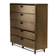 Liberty Miramar 5-Drawer Chest in Weathered Pine 514-BR41