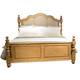 Liberty Autumn Brooke Queen Poster Bed in Caramel