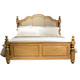 Liberty Autumn Brooke King Poster Bed in Caramel