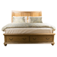 Liberty Autumn Brooke Queen Storage Bed in Caramel