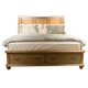 Liberty Autumn Brooke King Storage Bed in Caramel