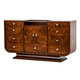 Aico Cloche 9 Drawer Dresser in Bourbon 10050-32
