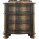 Liberty Tuscan Valley Two Drawer Nightstand in Weathered Oak 215-BR61