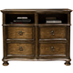 Liberty Tuscan Valley Media Chest in Weathered Oak 215-BR45