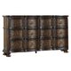 Liberty Tuscan Valley Six Drawer Dresser in Weathered Oak 215-BR31