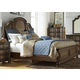 Liberty Tuscan Valley Queen Panel Bed in Weathered Oak