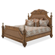 Aico Excursions Queen Panel Bed in Caramel Cashmere 9081000QN4-109