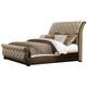 Liberty Cotswold King Sleigh Bed in Cinnamon 545-BR-KSL