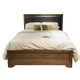Liberty Taylor Court Queen Upholstered Bed in Walnut 546-BR-QUB