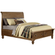 Liberty Southern Pines II King Sleigh Bed with Storage in Vintage Light Pine