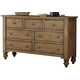 Liberty Southern Pines II Seven Drawer Dresser in Vintage Light Pine 918-BR31