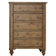 Liberty Southern Pines II Five Drawer Chest in Vintage Light Pine 918-BR41