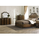 Liberty 4-Piece Cotswold Panel Bedroom Set in Cinnamon