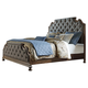 Liberty Tuscan Valley King Upholstered Bed in Weathered Oak