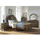 Liberty Tuscan Valley 4-Piece Panel Bedroom Set in Weathered Oak