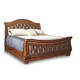 Fairfax Home Furnishings Orleans Cal King Sleigh Bed in Antique Brown