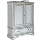 Liberty Magnolia Manor Door Chest in Antique White 244-BR42