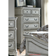 Liberty Magnolia Manor Five Drawer Chest in Antique White 244-BR41