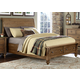 Liberty Southern Pines II Queen Sleigh Bed with Storage in Vintage Light Pine
