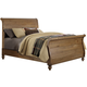 Liberty Southern Pines II King Sleigh Bed in Vintage Light Pine