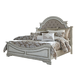 Liberty Magnolia Manor Queen Upholstered Bed in Antique White