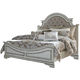 Liberty Magnolia Manor King Upholstered Bed in Antique White