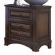 Liberty Knollwood Two Drawer Nightstand in Dark Cognac 258-BR61