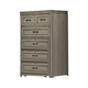 Liberty Grayton Grove 5-Drawer Chest in Driftwood 573-BR41