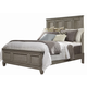 Liberty Grayton Grove Queen Panel Bed in Driftwood 573-BR-QPB