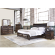 Liberty Knollwood 4-Piece Storage Bedroom Set in Weathered Oak