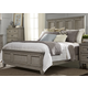 Liberty Grayton Grove King Panel Bed in Driftwood 573-BR-KPB