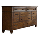 Liberty Rocky Mountain Drawer Dresser in Whiskey Brown 616-BR31