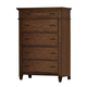 Liberty Rocky Mountain 5-Drawer Chest in Whiskey Brown 616-BR41