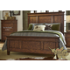 Liberty Rocky Mountain Queen Panel Bed in Whiskey Brown 616-BR-QPB
