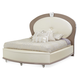 Aico Overture King Upholstered Bed in Creamy Pearl 08000EK4-14