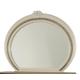 Aico Overture Oval Dresser Mirror in Champagne 08060-10