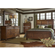 Liberty 4-Piece Rocky Mountain Panel Bedroom Set in Whiskey Brown