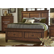 Liberty Rocky Mountain Queen Storage Bed in Whiskey Brown 616-BR-QSB